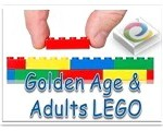 senior citizen and adults lego